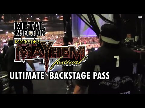 MAYHEM FEST 2014 – Ultimate Backstage Pass with Festival Staff | Metal Injection