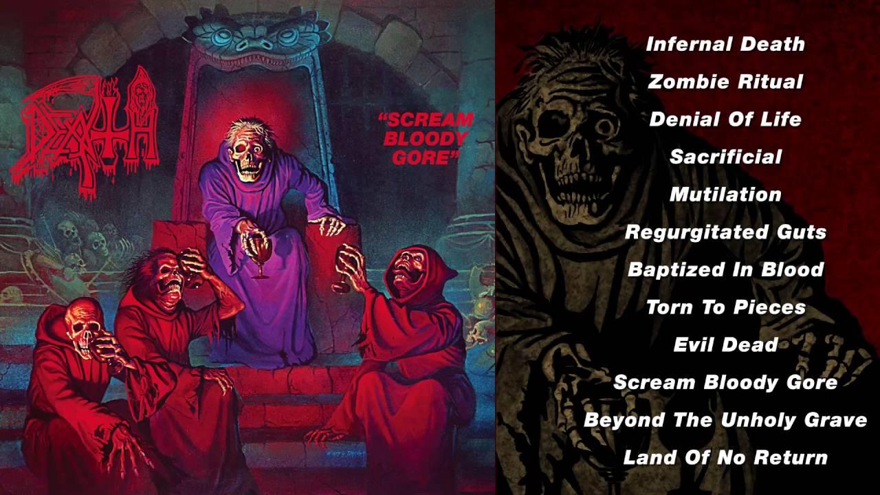 DEATH – 'Scream Bloody Gore' (Full Album Stream)