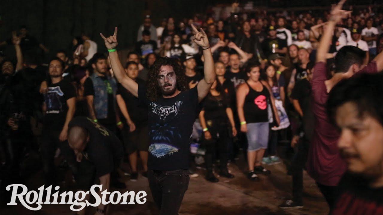 Inside the Mosh Pit At Summer's Biggest Metal Festival