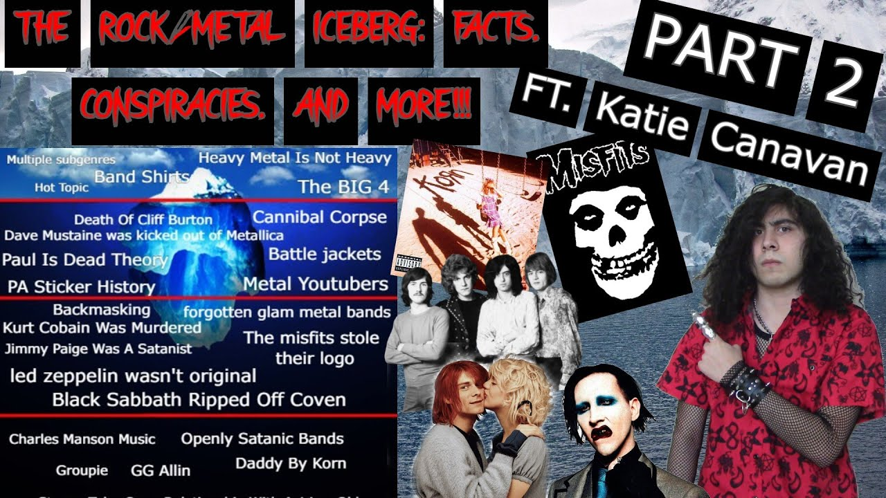 The Rock/Metal Iceberg Explained (Facts, Lost Media, & More) Ft. Katie Canavan