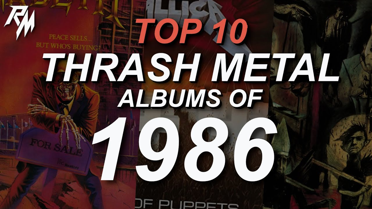 THE BEST THRASH METAL RECORDS OF 1986. (TOP 10)