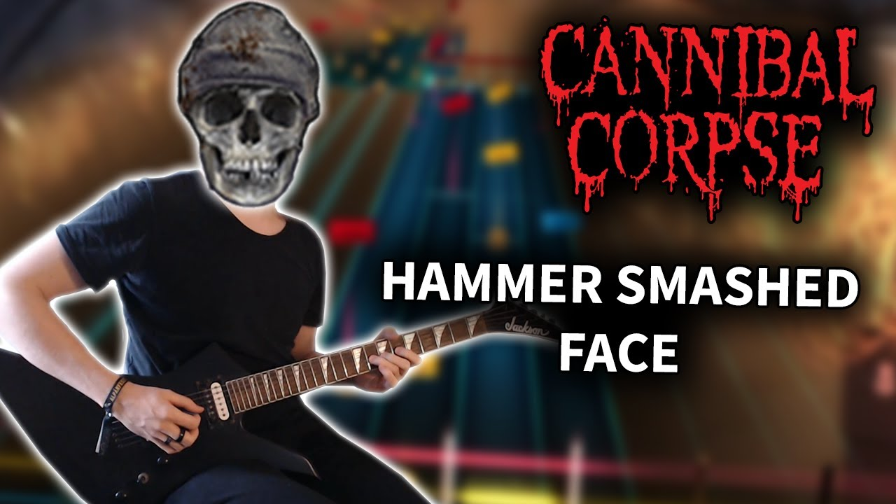 Cannibal Corpse – Hammer Smashed Face (Rocksmith CDLC) Guitar Cover