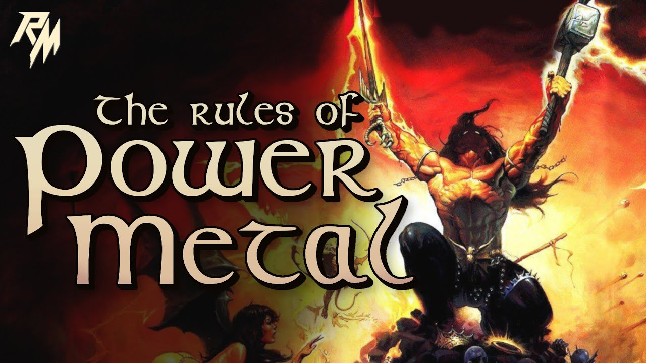 THE RULES OF POWER METAL – 100 Rules To Live By.