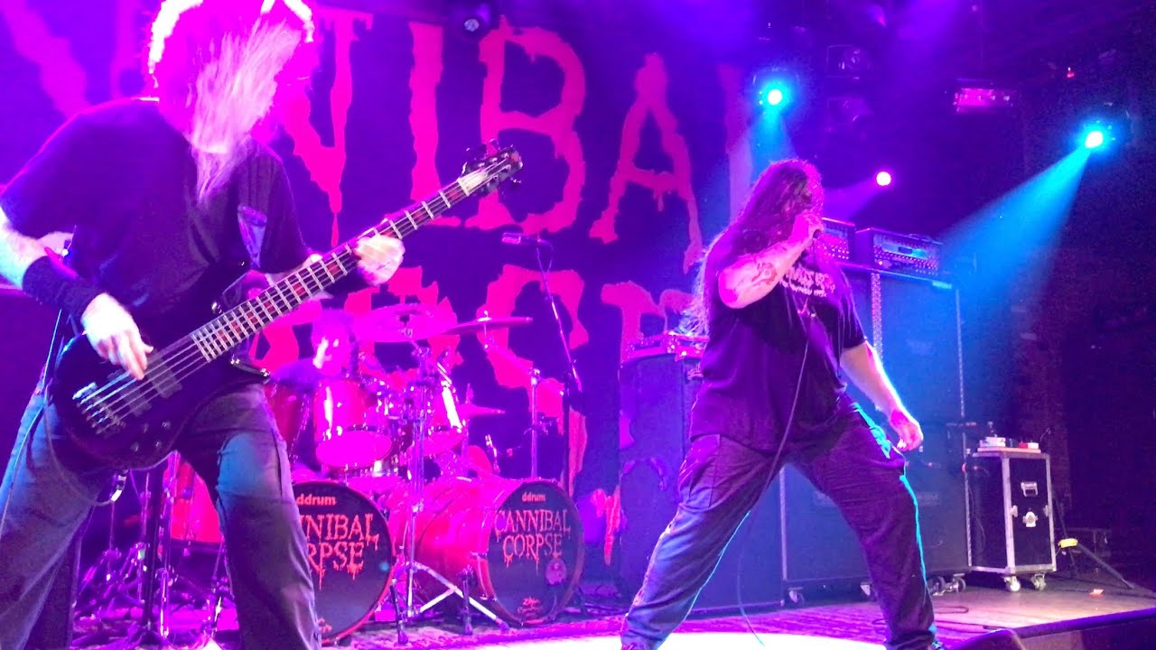 Cannibal Corpse Live at Toads Place New Haven CT FULL SHOW 11/21/2019 4K