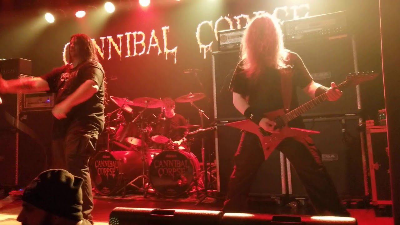 Cannibal Corpse live with Erik Rutan – Stripped, Raped and Strangled