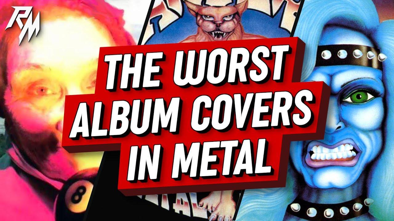 The Worst Album Covers In Metal. (Hideous Artwork)